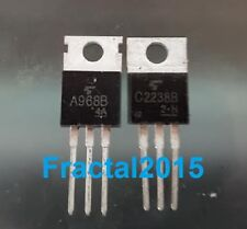 1 Paire 2SA968b/2SC2238b 2SA968/2SC2238 A968/C2238 TOSHIBA AMP Transistors
