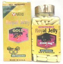 New Improved Super Extra Gold Royal Jelly (300 gels) - Boost Immune, Skin Beauty