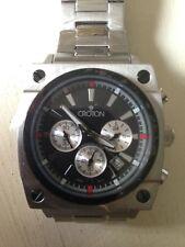 Croton Chronomaster CC311165 Men's Stainless Steel Black Dial Watch