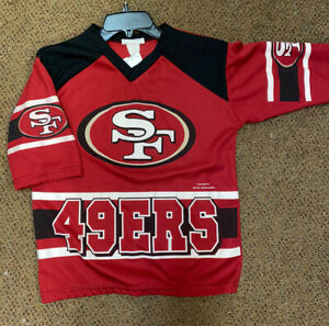 Youth 90's Vintage San Francisco 49ers Jersey size Large