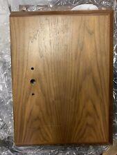 McIntosh CS22A Column Stand (walnut) Used For XRT22 Loud Speakers NO BRACKETS