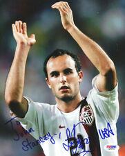 Landon Donovan Autographed Signed 8x10 Photo To John PSA/DNA COA Q89581