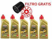 TAGLIANDO OLIO MOTORE + FILTRO OLIO KTM ADVENTURE ABS 1190 13/15