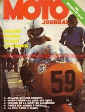 MOTO JOURNAL  175 Atlanta 1974 KAWASAKI KZ 400 MOTOBECANE 500 Gianfranco Bonera
