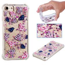 Quicksand Liquid Shining Case Soft TPU Cover For iPhone 7 6 6s Plus SE Samsung