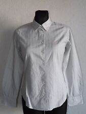 Crew Clothing Co womens cotton long sleeve striped shirt size UK 8