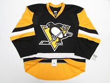PITTSBURGH PENGUINS AUTHENTIC HOME TEAM ISSUE REEBOK EDGE 2.0 7287 JERSEY SZ 58+