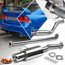 "For 06-11 Honda Civic Ex/Lx/Dx Fg1 1.8 4"" Tip Muffler S.S Racing Catback Exhaust"