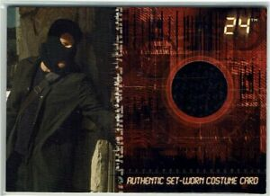 24 Season 4 Artbox 2006 Costume Card C1 Kiefer Sutherland as Jack Bauer #010/125