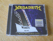 Megadeth - Rust In Peace Live 20th Anniversary Performance  2 Discs (CD 2010)