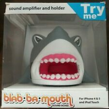 Blah Ba Mouth Sound Amplifier and Holder For iPhone 4 & 5