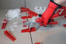KABOUFIX Fliesen Nivelliersystem XXL Set 500 Laschen - 250 Keile- Metallzange