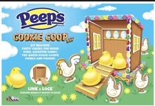 PEEPS Sugar Cookie Coop Decorating Kit - Easter Chicken House Shed