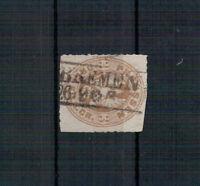 Preußen, Freimarke MiNr. 18 Vollstempel Bremen