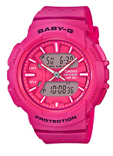 Crazy Deal New Baby-G BGA240-4A Urban Runner Hot Pink Analog-digi Ladies Watch