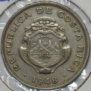 Costa Rica 1948 50 Centimos 196178 combine