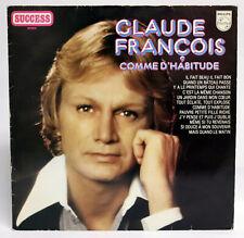 CLAUDE FRANCOIS Comme d'habitude 33 Tours 1973 Hollande VG VG+
