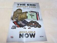 MOTLEY CRUE - Publicité de magazine / Advert THE END  !!!!!