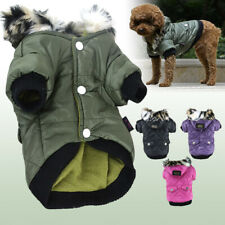 Dog Puppy Pet Warm Waterproof Coat Thick Winter Jacket Hoodie Apparel Clothes
