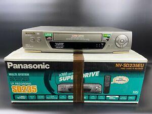 Panasonic VHS VCR NV SD235 4 HEAD Player Recorder PAL MESECAM NTSC
