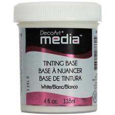 DecoArt Media Tinting Base 4oz (118ml) White DMM29-71
