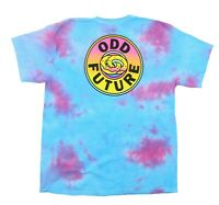 Odd Future Shirt BIG OF DONUT LOGO TIE-DYE T-Shirt Logo On Back NEW Size: S
