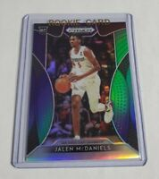 R40,551 - JALEN MCDANIELS - 2019 PRIZM DRAFT - ROOKIE - PURPLE GREEN - #159/199