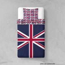 Parure Housse de couette en polyester 140X200 cm Union jack british