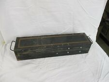 Vintage Bank Safety Deposit Box Steel Boxes Bank Vault Remington