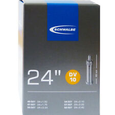 Schwalbe DV 10 Fahrrad Schlauch 24″ // Ausführung:24x1.75-2.35″ 40/62-507 DV40mm