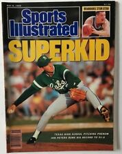 JON PETERS May 8, 1989 Sports Illustrated Magazine - NO LABEL