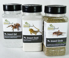 Reptile Livefood Care Pack, Insect Gel, Insect Grub & Insect Dust Calcium Powder