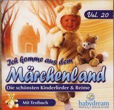 Babydream 20 (2004) Ich komme aus dem Märchenland [CD]