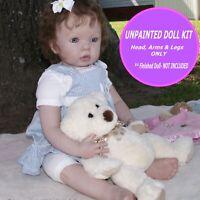 "Reborn Kit ~ Toddler baby doll kit  makes 31"" baby u paint  w/ FREE GIFT Tibby"