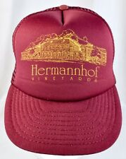 Hermannhof Vineyard Winery Missouri Baseball Cap Hat Snapback