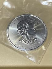 2020 SILVER Canada Maple Leaf $5 Five Dollar Solid Fine .9999 Silver 1oz Coin