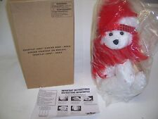 Chantilly Lane Singing Bear Roxie with Boa I Wanna Be Loved By You NEW in Box
