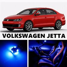 11pcs LED Blue Light Interior Package Kit for VOLKSWAGEN JETTA