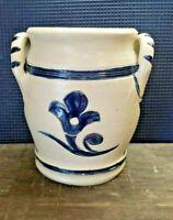Williamsburg Restoration Colonial Williamsburg Hand Painted Pottery Vase EUC