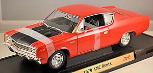 AMC Rebel - Rebel The Machine 1970 Red 1:18 Yat Ming