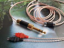 HiFi-A650  HD650 HD600 HD580 OCC Cable Copper wire Carbon 6.3mm Gold Sennheiser