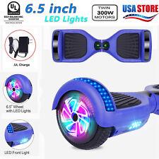 "Hoverboard Ul 6.5"" Kids Self Balancing 2 Wheels Scooter Running Led Lights Gift"