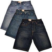 Brand New Mens Levi's Shorts 569 Denim Jeans Blue 29 30 31 32 34 36 38 40