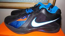 Nike Air Zoom KD KD3 3 III size 11 Durant black blue orange road thunder DS NEW