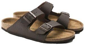Birkenstock Arizona Vegan Leather Sandals Brand New