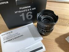 Fujifilm XF 16mm f2.8 R WR Lens - Pristine Excellent Condition - Barely Used