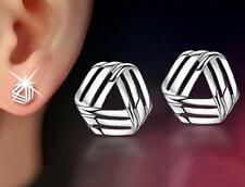 wholesale 925 solid silver filled earrings girl's ear stud fashion jewelry