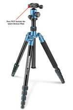 "Manfrotto MKELEB5BL-BH - Element 65"" Tripod - Traveler Kit Big Blue  Used - READ"