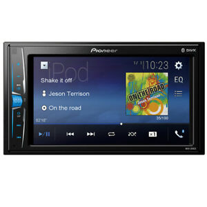 Pioneer MVH-210EX RB Double DIN MP3/WMA Digital Media Player 6.2 LCD Bluetooth