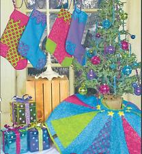 Caterwauling Christmas Stockings & Tree Skirt quilt pattern by Whistlepig Creek